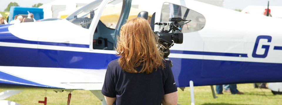 Press coverage at Heli UK Expo